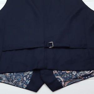 Indochino Suits & Blazers - Indochino Vest Waistcoat Navy XL Mens Wool Cashmer